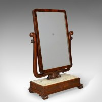 Antiques Atlas - Large Antique Vanity Mirror, Toilet, Swing,