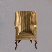 Victorian Antique Armchair, Scottish Fireside Wing ...