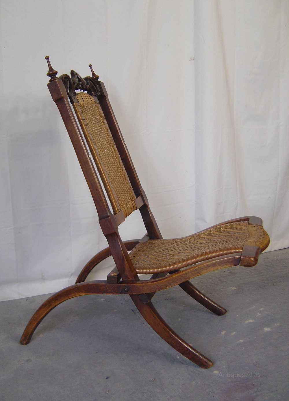 gothic chairs uk cool for girls a victorian walnut folding campaign chair - antiques atlas