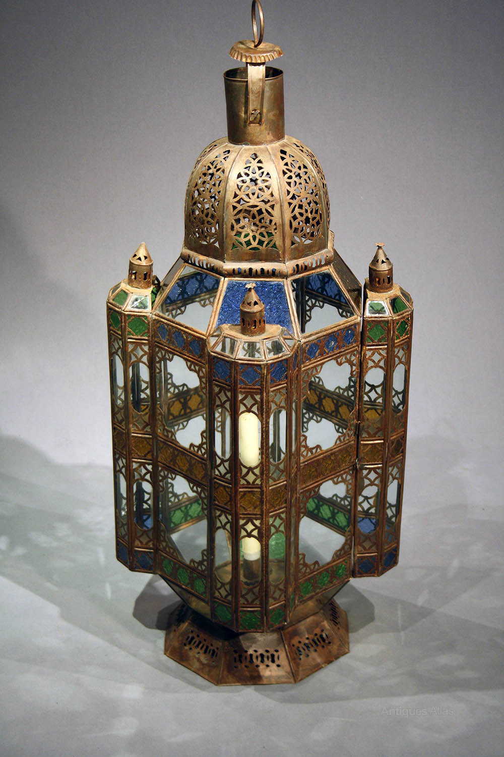 Antiques Atlas  A Large Moroccan Lantern 1930s