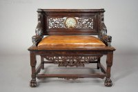A Quality Antique Chinese Throne Chair 19th C - Antiques Atlas