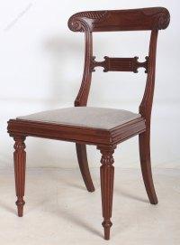 Late Regency Mahogany Chair - Antiques Atlas
