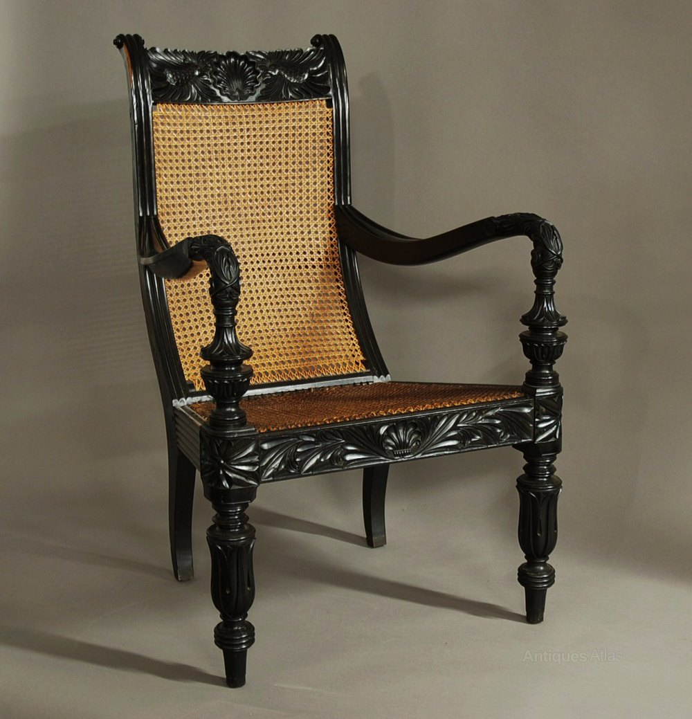 z chair mid century swivel kid a carved solid ebony from the galle district - antiques atlas
