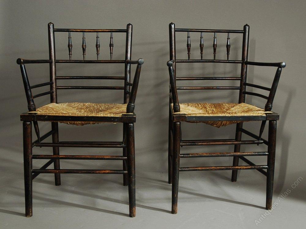 Set Of Six Morris  Co Sussex Chairs  Antiques Atlas