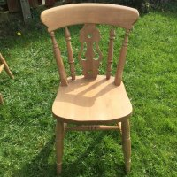 Antiques Atlas - Set Of 6 Solid Pine Kitchen / Dining Chairs