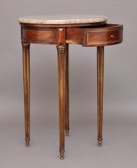 Marble Top Lamp Table - Antiques Atlas