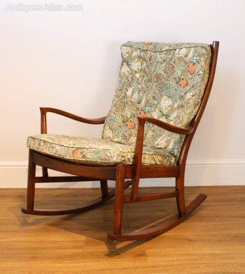 antique high chair cr plastics adirondack chairs antiques atlas - a parker knoll 'florian' rocking