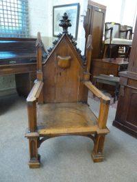 Gothic Chair - Antiques Atlas