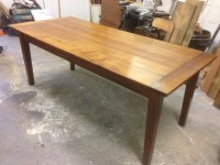 Oak Farmhouse Table / Dining Table /kitchen Table ...