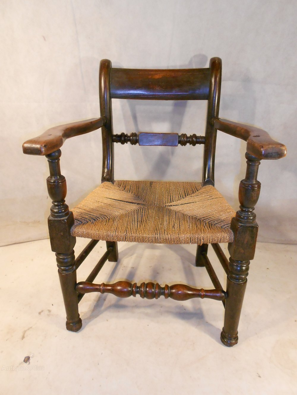 z shaped high chair car seat office chairs uk antique oxford / thames valley elbow - antiques atlas