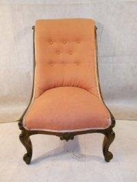Antique Victorian Rosewood Nursing Chair C1850-70 ...