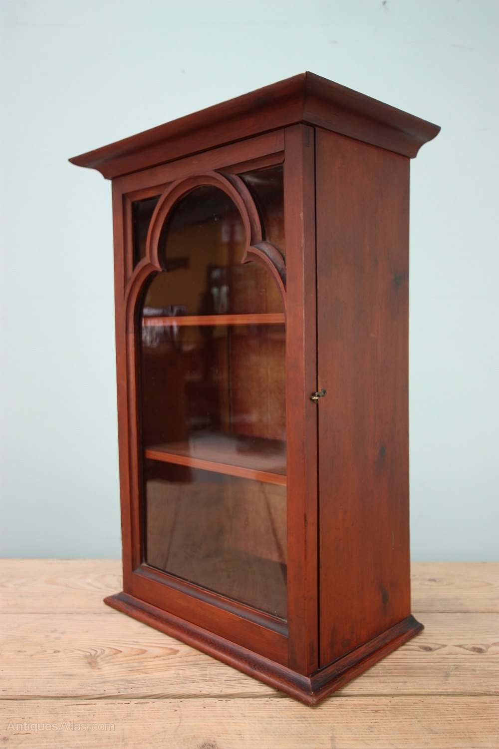 19th Century Antique Pine Wall Cabinet  Antiques Atlas