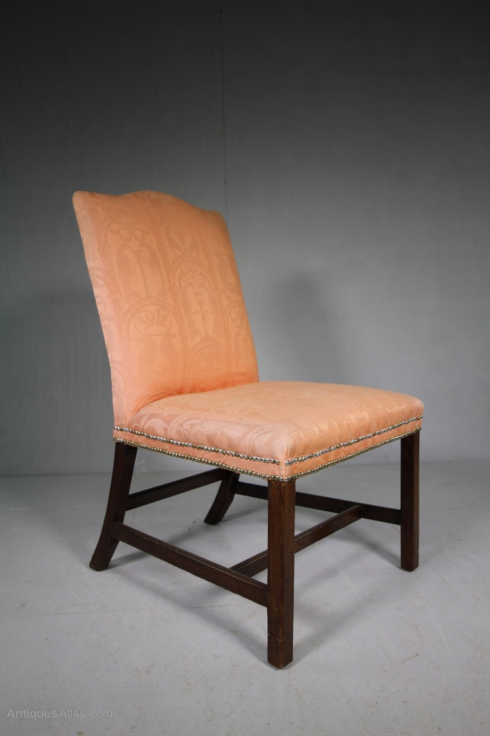 dining chairs upholstered costco table and georgian antique side chair. - antiques atlas