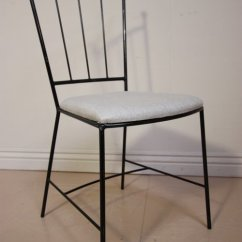 Wrought Iron Dining Chairs Kiddies Chair Covers For Sale In Pretoria Antiques Atlas Set Of 1950 S