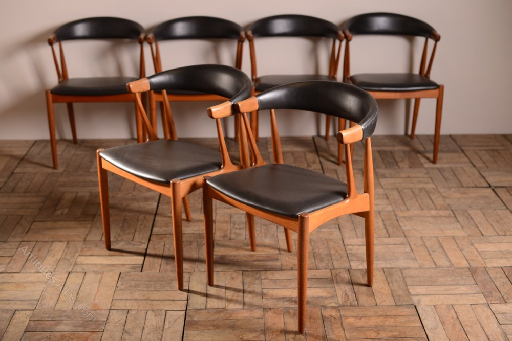 danish dining chair industrial office chairs antiques atlas set of 6 johannes andersen