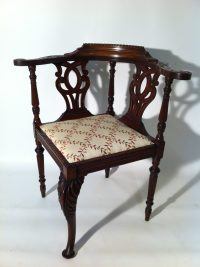 Victorian Corner Chair - Antiques Atlas