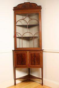 Edwardian Corner Cabinet - Antiques Atlas