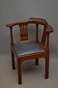 Georgian Corner Chair - Antiques Atlas