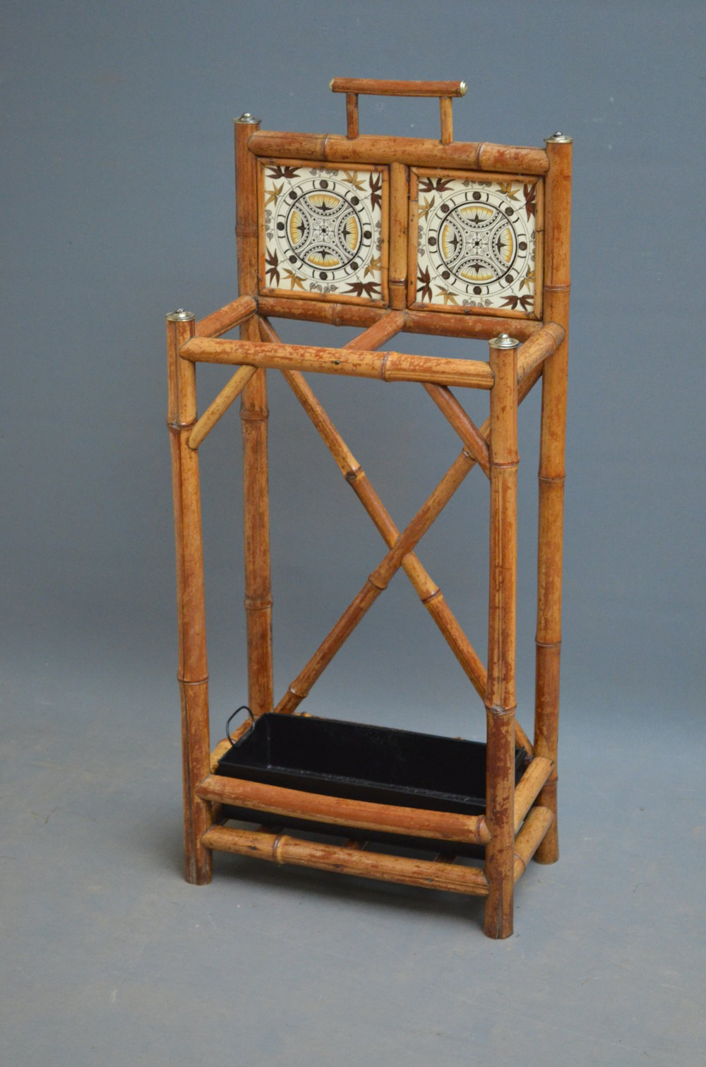 bamboo chairs for sale diy flower chair sash late victorian umbrella stand - antiques atlas