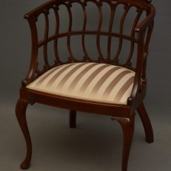 Victorian Occasional Chair Best Company Recliner Late By Druce & Co London - Antiques Atlas