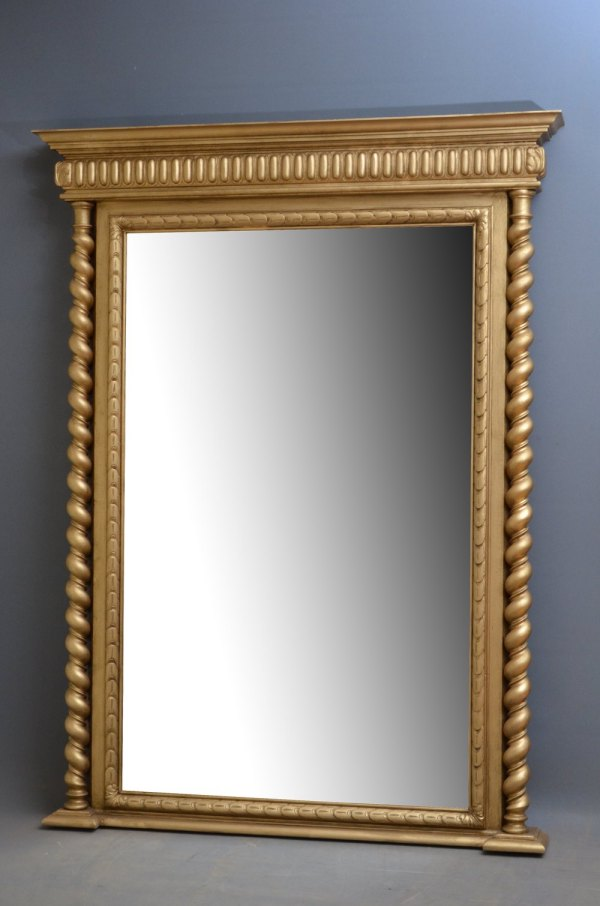 Antiques Atlas - Victorian Giltwood Pier Mirror Gilt