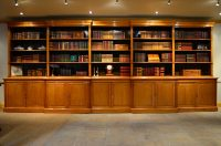 Victorian Oak Library Bookcase - Antiques Atlas