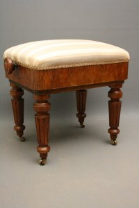 Victorian Piano Stool - Antiques Atlas