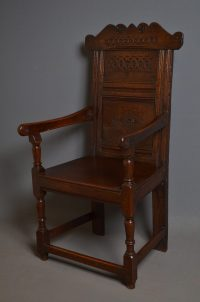 Wainscot Chair - Antiques Atlas