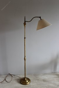 Antiques Atlas - Brass Adjustable 1950s Floor Lamp