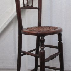 Cane Back Chairs For Sale Antique High Childs Correction Chair Mid 19thc. - Antiques Atlas