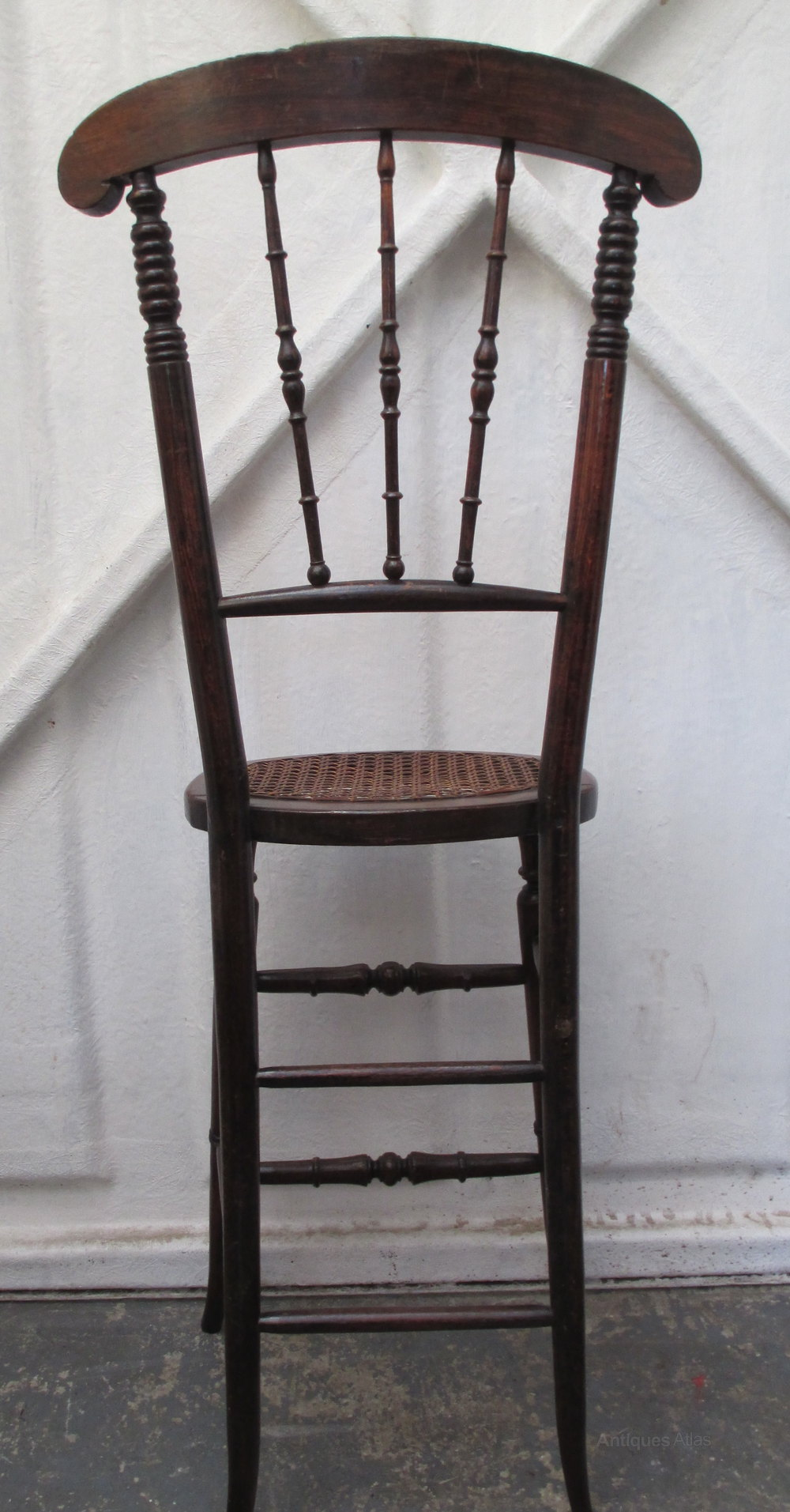 cane back chairs antique dining childs correction chair mid 19thc. - antiques atlas
