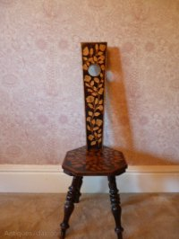 Spinning/Sewing Chair - Antiques Atlas