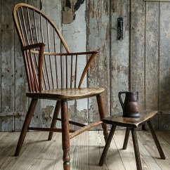Wood High Chair For Sale Parsons Covers Target Country Windsor - Antiques Atlas
