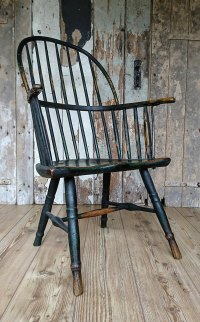 Painted Windsor Chair - Antiques Atlas