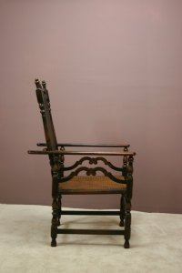 A Victorian Adjustable Bergere Armchair - Antiques Atlas