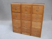 Large Oak Filing Cabinets - Antiques Atlas