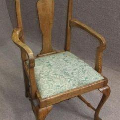 Queen Anne Dining Chair Fluffy Bean Bag Chairs - Antiques Atlas