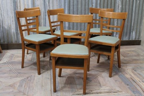 cafe chairs wooden little girls antiques atlas vintage with blue upholstered