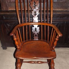 Windsor Back Chairs For Sale Nursing Chair Accessories Fine 19thc Yew Wood High C1860 - Antiques Atlas
