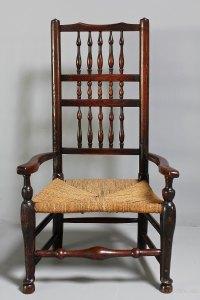 19th Century Country Nursing Chair. - Antiques Atlas
