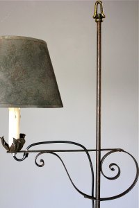 Antiques Atlas - 20th Century Wrought Iron Floor Lamp