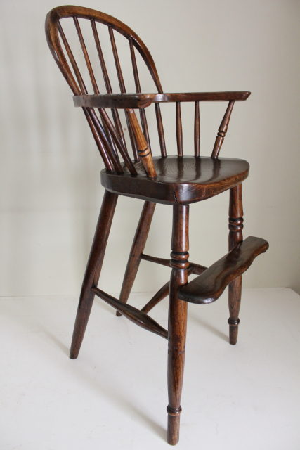 antique high chairs wooden rocking chair glider childs windsor arm antiques atlas