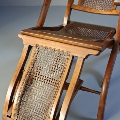 Quality Folding Chairs Revolving Chair For Back Pain Antique Steamer Deck Chair. T658 - Antiques Atlas