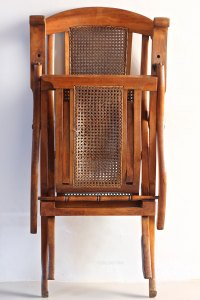Antique Folding Steamer Deck Chair. T658 - Antiques Atlas