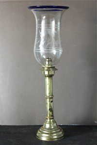 Antiques Atlas - Antique Perpetual Candle Storm Lamp