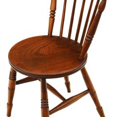 Windsor Kitchen Chairs Clogged Drain Set Of 6 Victorian Beech Elm Penny ...