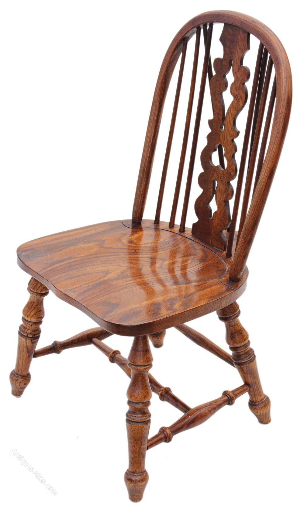 antique windsor chair cover hire wigan antiques atlas - victorian revival elm oak