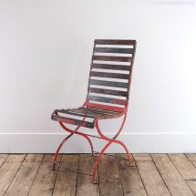 Antiques Atlas - Red Outdoor Chair