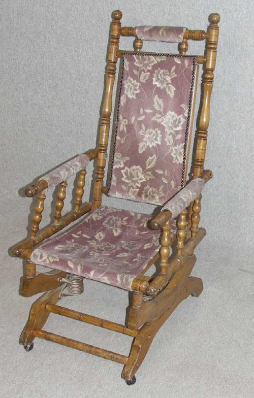 antique rocking chairs for sale folding chair flipkart antiques atlas - walnut