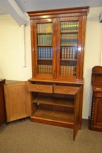 Victorian MAHOGANY Library Bookcase C1870